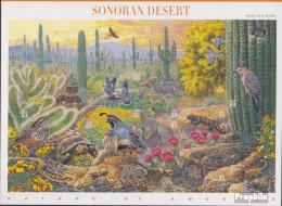 USA 3100-3109 Folienblatt (kompl.Ausg.) Postfrisch 1999 Amerikanische Naturlandschaften(I) - Unused Stamps