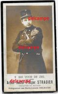 Doodsprentje Arthur Stragier Oostende Douanier Te Rekem En Aldaar Overleden 1919 Delbaere Reckem Menen - Images Religieuses