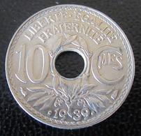 France - Monnaie 10 Centimes Lindauer 1939 - SPL Proche FDC - D. 10 Centimes