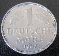 Allemagne - Monnaie 1 Deutsche Mark 1957 J - 1 Mark
