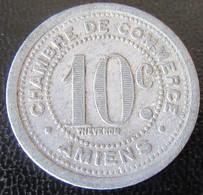 France - Jeton 10 Centimes Chambre De Commerce D'Amiens 1921 - Noodgeld