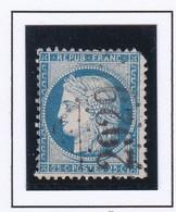 GC 2929 PONT CROIX ( Dept 28 Finistère ) S / N° 60 Dent Coin Haut Droit Défaut - 1849-1876: Classic Period