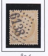 GC 6138 SAINT QUENTIN LA POTERIE ( Dept 29 Gard ) S / N° 59 Indice Baudot S / L : 20 Soit 500€ - 1849-1876: Periodo Classico