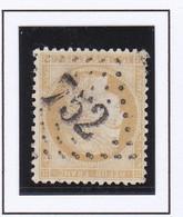 GC 752 CASTELMAURON ( Dept 30 Haute Garonne ) S / N° 59 Indice Baudot S / L : 16 Soit 190e - 1849-1876: Classic Period