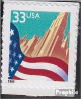 USA 3091BK (kompl.Ausg.) Postfrisch 1999 Flagge - Unused Stamps