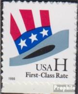 USA 3060BA (kompl.Ausg.) Postfrisch 1998 Hut Von Uncle Sam - Unused Stamps