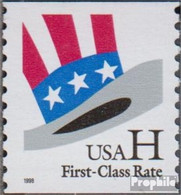 USA 3059C (kompl.Ausg.) Postfrisch 1998 Hut Von Uncle Sam - Unused Stamps