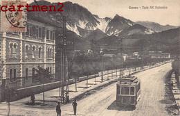 CARRARA VIALE XX SETTEMBRE TRAMWAY TRAM ITALIA - Carrara