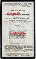 Oorlog Guerre Charles KInders Hamme Gesneuveld Bombardement D'une Usine De Munitions Bousbecque Wervicq Sud 26 Juni 1918 - Devotieprenten