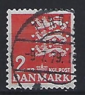 Denmark  1946-69  Arms  (o) Mi.290y (cancelled TINGLEV) - Used Stamps