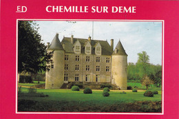 """37. CHEMILLE SUR DEME. CPA. RARETE. """" CHÂTEAU DE LA MARCHERE """". - Andere Gemeenten"""