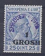 210037974  ALBANIA.  YVERT   Nº  78A  **/MNH - Albania