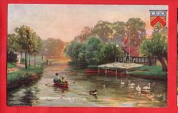 TUCK   CHELTENHAM  MARLE HILL LAKE  + HERALDIC Pu 1907 - Gloucester