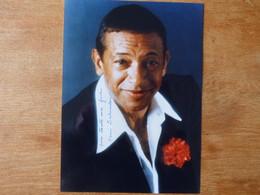 Autographe Sur Photo CHANTEUR HENRI SALVADOR - Autografi