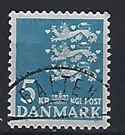 Denmark  1946-69  Arms  (o) Mi.291y (cancelled GALTEN) - Used Stamps