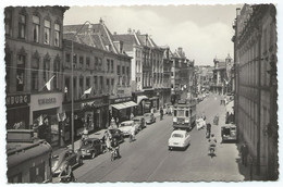 Leiden Blauwe Tram Den Haag Breestraat Strassenbahn Trolley Stadstram NZH 1960's - Leiden
