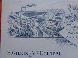 FACTURE - 52 - DEPARTEMENT DE LA HTE MARNE - VIGNES 1911 - BRASSERIE DE VIGNES : GILBIN & COUTEAU - Non Classificati