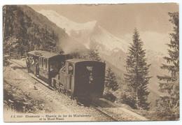 Chamonix Mont Blanc Montenvers Crémaillière Zahnradbahn Bergbahn Tram Railway Train Steam Dampflok - Chamonix-Mont-Blanc