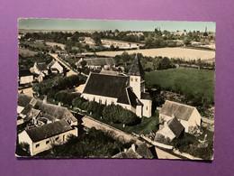 18  CPSM   OUROUER-LES-BOURDELINS  L'Eglise  D'Ourouer   Bon état - Other Municipalities