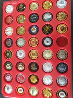 Lot 39 Capsules Muselets Champagne Producteurs D-E-F-G - Collections