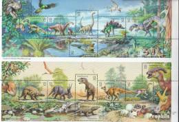 USA 2814-2828 Zd-Bogen (kompl.Ausg.) Postfrisch 1997 Prähistorische Tiere - Unused Stamps
