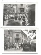 FESTIVAL De CORNOUAILLE - QUIMPER - 3 Photos - Même Le Pays Guérandais - Rue Devant Le GARAGE PEUGEOT - Quimper