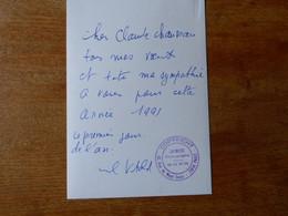 Autographe Sur Photo CHANTEUR LEON CAMPION - Autografi