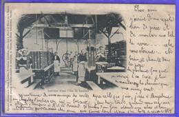 Carte Postale 29. Concarneau  Intérieur D'une Usine De Sardines Très Beau Plan - Concarneau