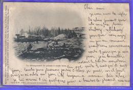 Carte Postale 29. Concarneau  Débarquement Du Poisson à Marée Basse Très Beau Plan - Concarneau