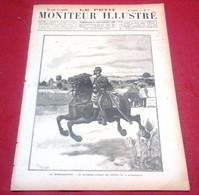 Le Petit Moniteur Illustré N°37 Septembre 1890 Voyage Su Pays Des çomalis,Planche Dessin Job,Mobilisation - 1850 - 1899