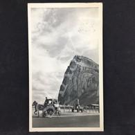 #CPA172 - PUBLICITE - PLASMARINE  LA BIOMARINE - Gibraltar La Pointe De L'Europe  - 2 Timbres - Advertising