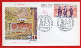 FDC LES ETATS GENERAUX VERSAILLES  8 5 1971 - 1970-1979
