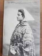Morlaix.la Coiffe à Cornette.costume De Mariée.coiffe Costume Breton.édition Villard 1110 - Morlaix