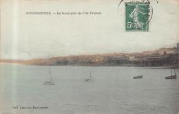 DOUARNENEZ -  Le Guet Pris De L 'ile Tristan ( Edts Lannou 1909 ) Colorisée - Douarnenez