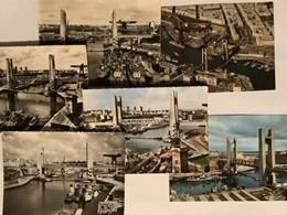 29  BREST   Lot De 6 CPSM   Port Et Pont De La Recouvrance   Bon état Général - Brest