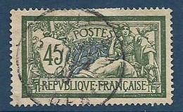 France N°143 Oblitéré 1907 - Used Stamps