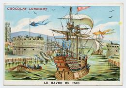 François 1er Fit Chercher Un Emplacement Pour établir Un Port Sur La Manche. Franciscopolis ( Le Havre) En 1520. - Lombart
