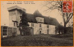 ENVIRON DE SARLAT  -  CHATEAU DE LA ROUSSAY  -  FACADE DE L'ENTREE  -  Mars 1902 - Otros Municipios