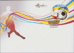 POLAND 2012 Mi 4572 UEFA EURO Football Poland Ukraine FDC - FDC