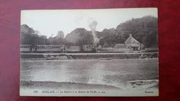 Cp29 FINISTÈRE La Rivière à La Maison De Paille  (  Train    Chemin De Fer ) - Morlaix