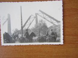 PLOMBIERES LE VIADUC DE MORESNET  WW2 GUERRE 39 45  DETRUIT LE 10 MAI 1940 CAVALERIE ALLEMANDE PASSANT DEVANT LE VIADUC - Plombières