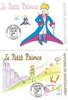 Le PETIT PRINCE - Antoine De St EXUPERY - 5 Cartes 1er Jour 12 09 1998 PARIS - La Série De 5 (complète) Yv 3175/3179 - Covers & Documents