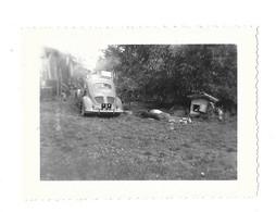 1960 AUTO VOITURE - RENAULT 4 CV IMMATRICULEE 154 AR 21 - PHOTO - Automobili