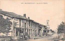 Hannonville - La Rue De L'église - Sonstige Gemeinden