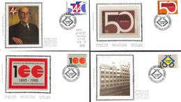 D - [907182]B/TB//-Belgique 1994 - N° 2585/88, TOURING CLUB, 'GILLY', 4 FDC, Série Complète - 1991-00