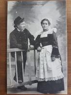 Mariés De Rosporden.coiffe Costume Breton.édition Villard 1471 - Andere Gemeenten