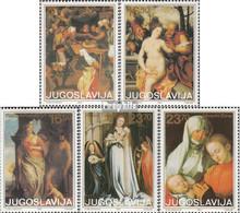 Jugoslawien 2014-2018 (kompl.Ausg.) Postfrisch 1983 Kunst - Nuevos