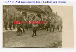 GRANDHAM-Grossherzog Ernst Ludwig Von Hessen-CARTE PHOTO Allemande-Guerre14-18-1WK-Militaria-France-08 - Autres Communes