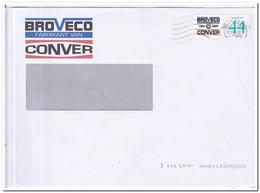 Nederland 2008, Broveco Conver (fabrikant Van Conver Machines) - Storia Postale