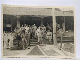 Asie. Indochine. Vietnam. Ben Tre. Militaires. 1949. 12x8.5 Cm - Places